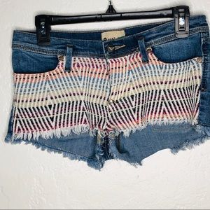 Roxy | Denim Woven Tribal Pattern